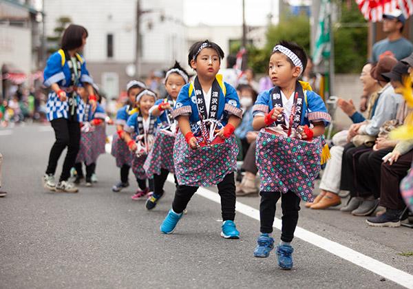おいらせ町百石祭り 駒踊り